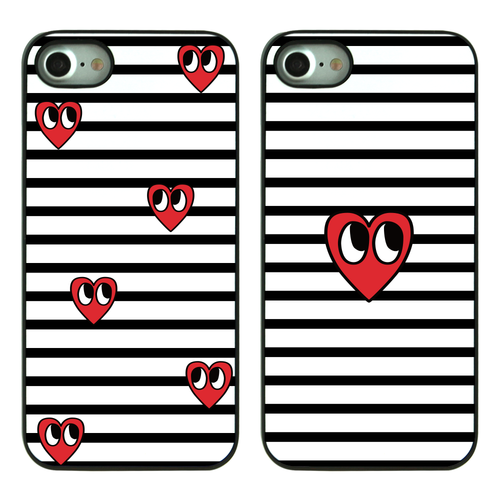 CHAJI STRIPE HEART(2TYPE) BLACK CASE