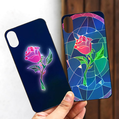 DPARKS STAINED GLASS ROSES 무적케이스 트윙클커버