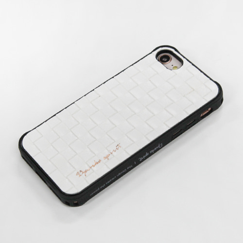 TEGACROSS LEATHER COVER - WHITE