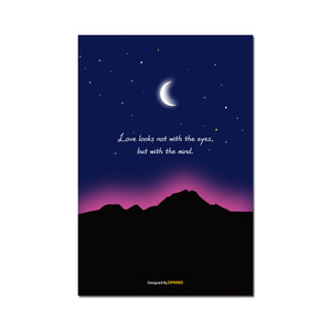 AURORA MOONLIGHT 디자인카드