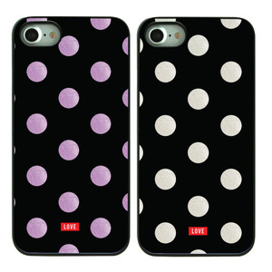 DPARKS LOVE DOT BLACK CASE