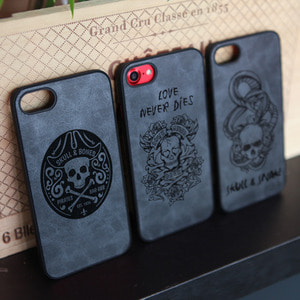 DPARKS SKULL Ver.02 LEATHER CASE
