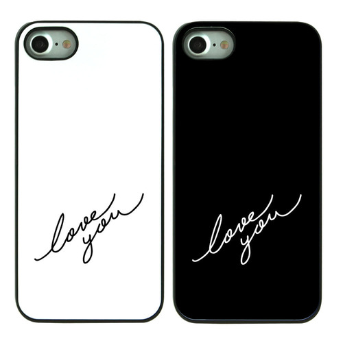 HYONNA CALLIGRAPHY DIAGONAL BLACK CASE