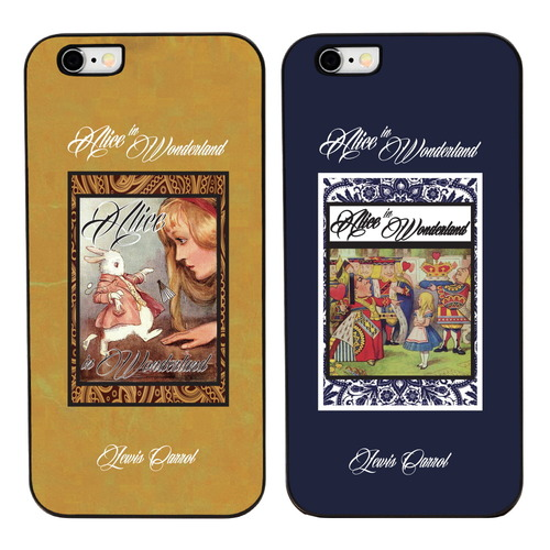 ALICE IN WONDERLAND(4TYPE) BLACK CASE