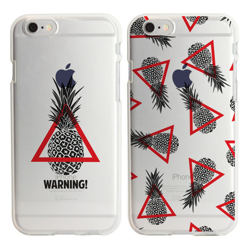 MAZEWALKER PINEAPPLE WARNING(2TYPE) SOFT CASE
