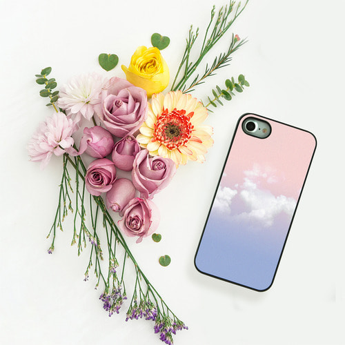 DPARKS ROSE QUARTZ SERENITY SKY BLACK CASE