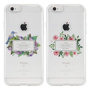 YEAJIN FLORAL SQUARE(4TYPE) SOFT CASE